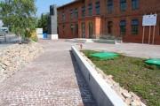 Muzeum AK kostka vanga i schody kashmir white 04