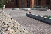 Muzeum AK - kostka vanga, stopnie blokowe kashmir white 05